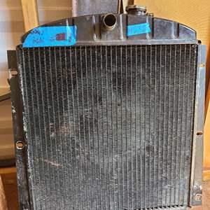 "Lot # 232 ""1954"" Chevy Radiator"