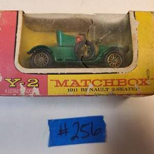 Lot # 256  Matchbox Yesteryear Y2 1911 Renault - See Description
