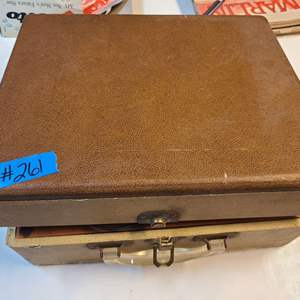 Lot # 261 Vintage Kitchell Suitcase Record Player