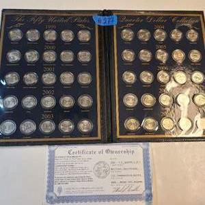 Lot # 277 United States Commemorative Gallery Coin Collection