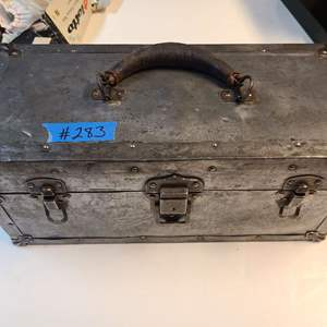 Lot # 283 Tool Box W/ Small Tools