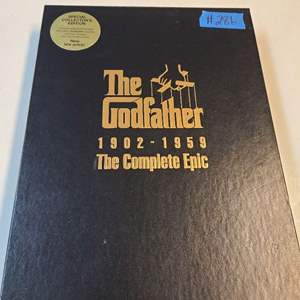 Lot # 286 GodFather VHS Special Collectors Edition