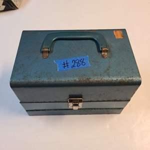 Lot # 288 Vintage Reel Case W/ Reels