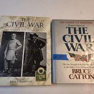 Lot # 289 Lot of 2 Books about The Civil War