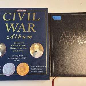Lot # 290 Lot of 2 Books ABout The Civil War
