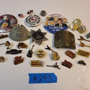 Lot # 293 Lot of Various Fun Pins