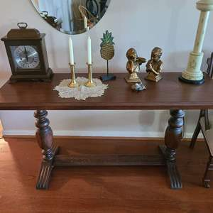 Lot # 2 Mid- Century Wood Accent Table