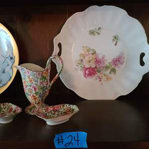 Lot # 24 Lot of Decorative Porcelain