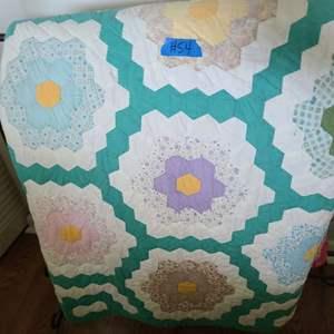 Lot # 54 Hand made Quilt Pillow