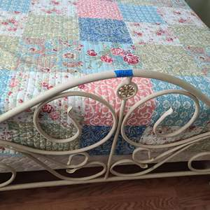 Lot # 68 Full Size Metal Bed Frame (bed not included)