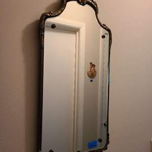 Lot # 72 Antique Hanging Wall Mirror