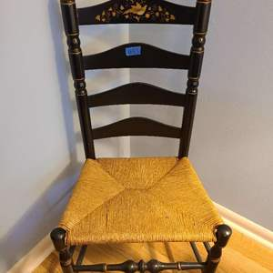Lot # 83 Painted Sitting Chair