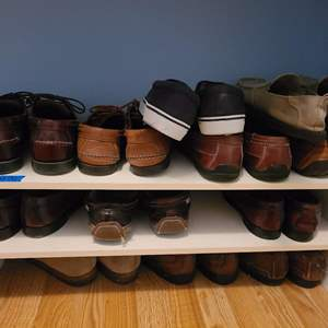 Lot # 91 Lot of Shoe (worn see Pictures)