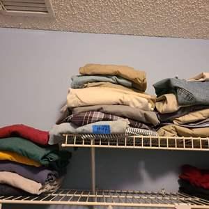 Lot # 97 Lot of Men's Sweat Shirts and Pants