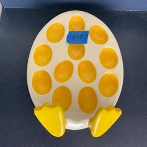 Lot # 122 Egg Plate
