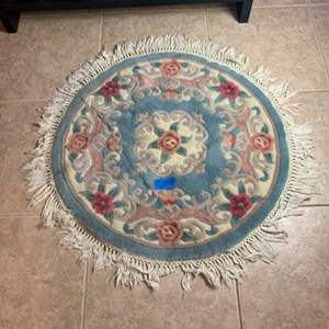Lot # 144 Small Round Rug