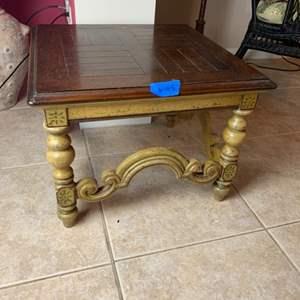 Lot # 145 Wood Coffee Table