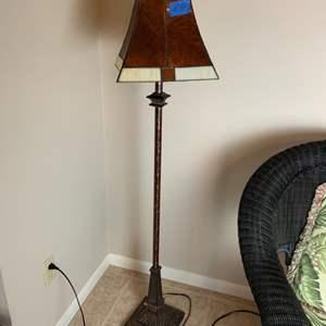 Lot # 150 Tall Floor Lamp