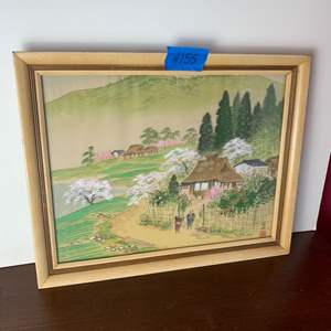 Lot # 155 Japanesse Style Framed Picture