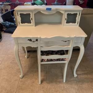Lot # 159 Vintage Styled Secretary Desk