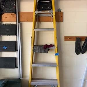 Lot # 162 Stanley A-Frame Ladder