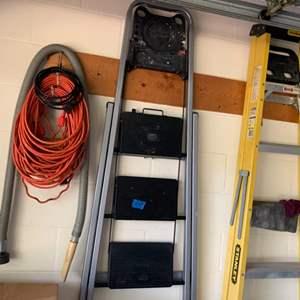 Lot # 163 A-Frame Ladder