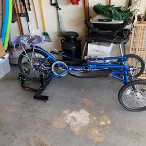 Lot # 164 USA Made Elliptical Bike like new