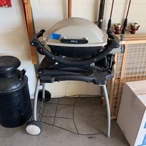 Lot # 165 Weber Electric Grill