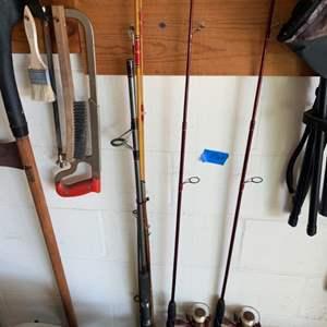 Lot # 166 Lot of Fishing Supplies