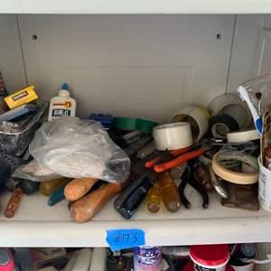 Lot # 173 Lot of Various Garage Needs