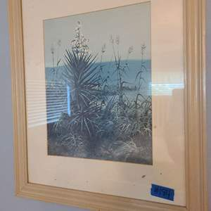 Lot # 184 Nice Framed Picture of Seascape