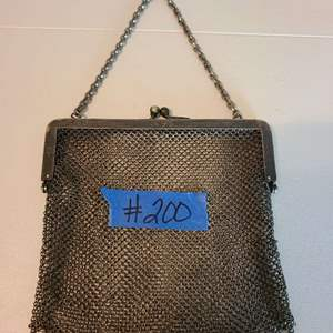 Lot # 200 Small J. S. German Silver Ladies Purse (Approx Weight)