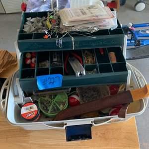 Lot # 227 Lot of Various Fishing Needs
