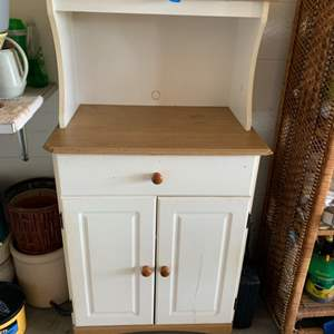 Lot # 229 Kitchen Hutch with Cabinet
