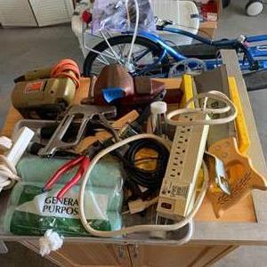 Lot # 231 Lot of Various Garage Needs & Tools