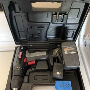 Lot # 235 Craftsman Cordless Power Drill