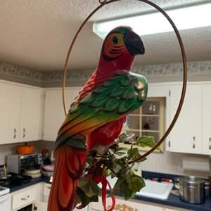 Lot # 253 Hanging Bird Decor