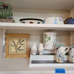 Lot # 258 Lot of Decorative Kitchen Ware