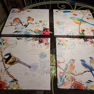Lot # 272 Set of Four Wall Art Pictures
