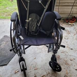 Lot # 191 Medline Wheelchair