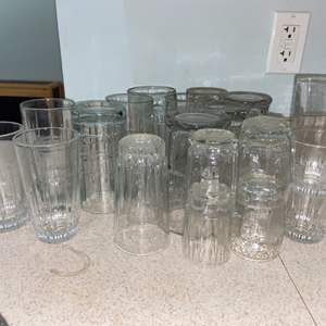 Lot # 379 Variety of Drinking Glasses