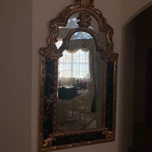 Lot # 3 Decorative Wall Mirror (has Crack In Frame)