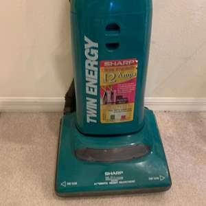 Lot # 25 Sharp Vacuum Cleaner