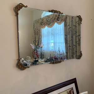 Lot # 58 Large Hanging Mirror