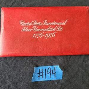 Lot # 78 United States Bicentennial Uncirculated Coin Collection
