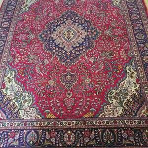 Lot # 105 Beautiful LARGE Persian/Turkish Area Rug - See Description