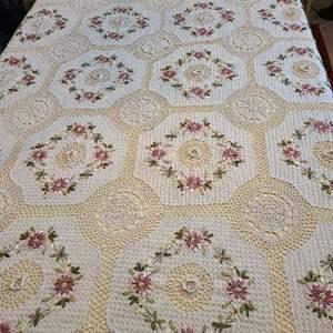 Lot # 118 Handmade Large Table Cloth