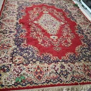 Lot # 130  Beautiful LARGE Persian/Turkish Area Rug - See Description