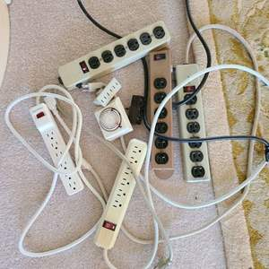 Lot # 131 Small Lot of Various Power Strips