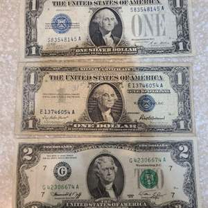 Lot # 138 Small Lot of Older Bills